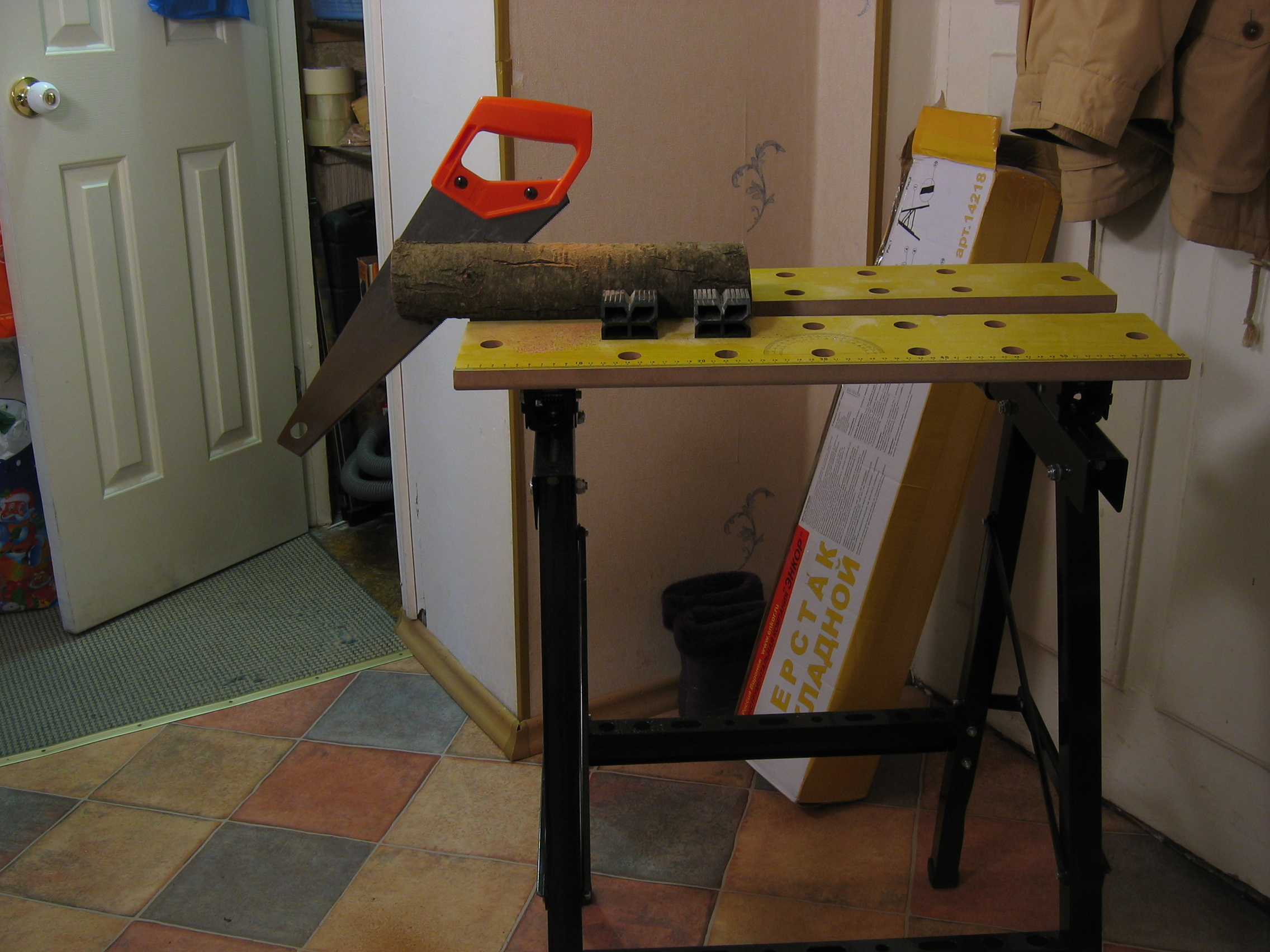 Как сделать складной стол для гаража