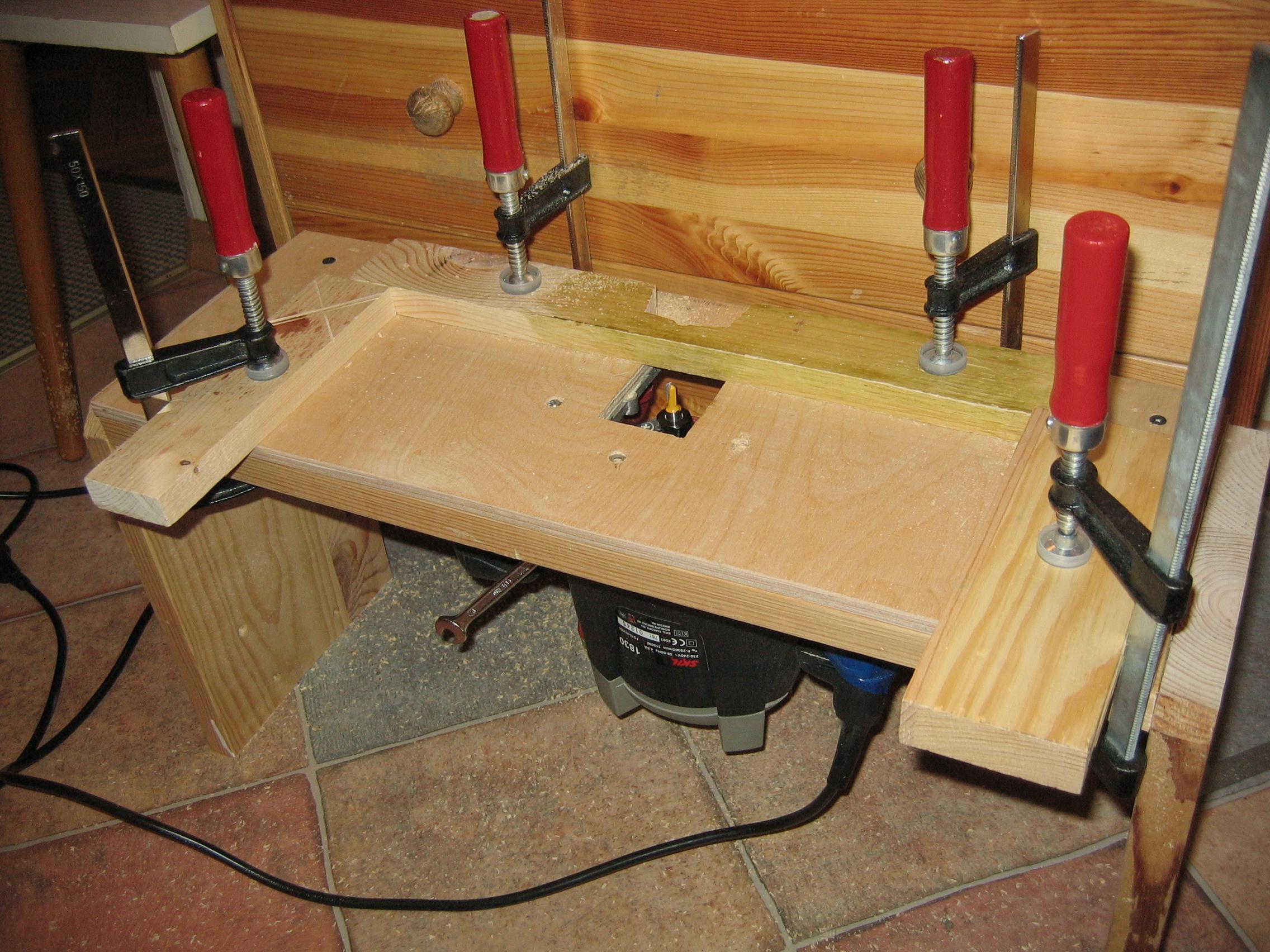 Как я сделал стол для фрезера 936