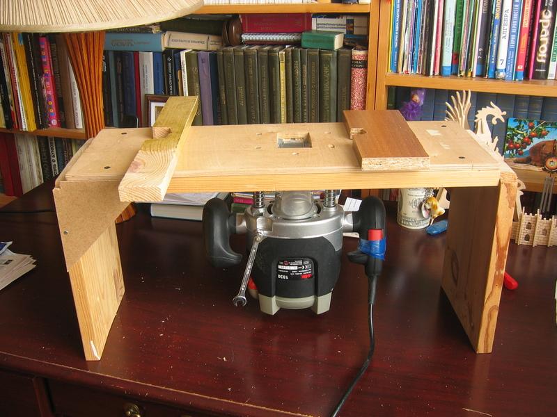 Фрезерный стол в домашних условиях.